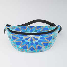 Moroccan Tile - Zellige II Cobalt Fanny Pack