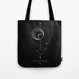 Capricorn Zodiac Constellation Tote Bag
