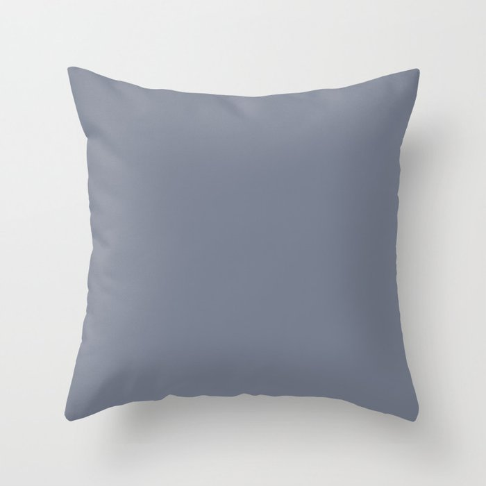 Valspar America Hazy Blue / Seattle Haze Blue Gray / Twinkle, Twinkle Blue Colors of the year 2019 Throw Pillow