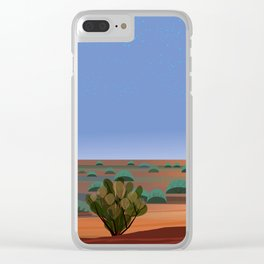 Twilight in the Desert Clear iPhone Case