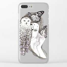 NightOwl Clear iPhone Case