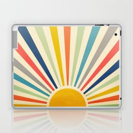 Sun Retro Art III Laptop & iPad Skin