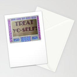 TREAT YO-SELF! Stationery Cards