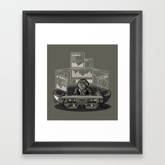 THE COMPOSER Framed Art Print