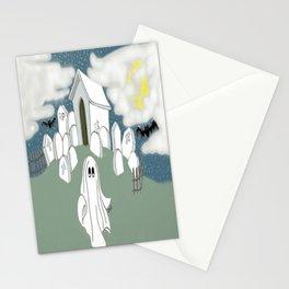 Grave Yard Shift Stationery Cards