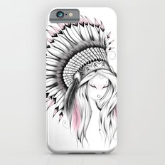 Indian Headdress Pink Version Slim Case iPhone 6s