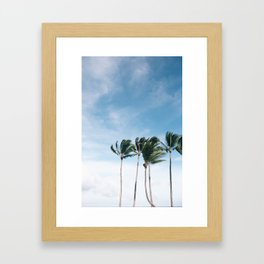 Kapaa Framed Art Print