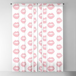 Coral Lips Blackout Curtain
