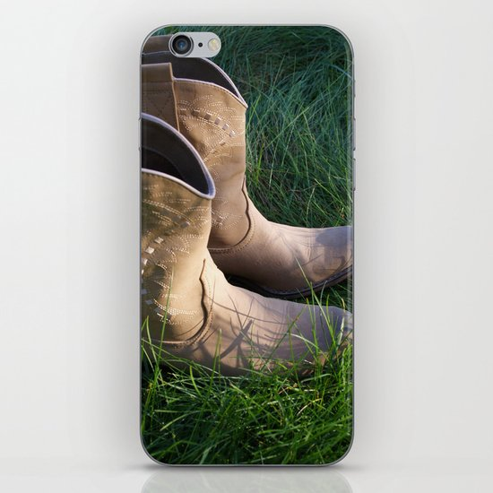 Country Boots 2 iPhone & iPod Skin