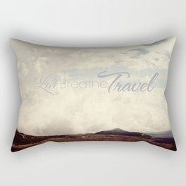 Live Breathe Travel - Mt Etna, Italy Rectangular Pillow
