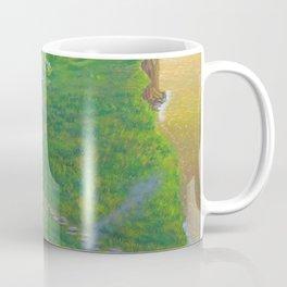 Ocean side cottage Coffee Mug