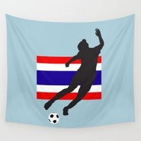 thailand Wall Tapestries featuring Thailand - WWC by Alrkeaton