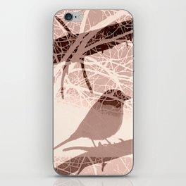 Bird tree iPhone Skin