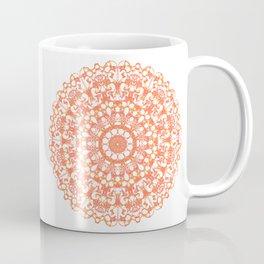 Mandala 12 / 3 eden spirit orange Coffee Mug