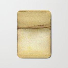 Distressed Paper Art Ten Bath Mat