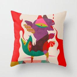 Anfisbena Throw Pillow