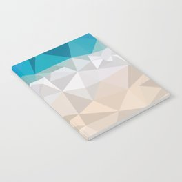 Low poly beach Notebook