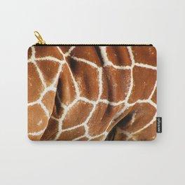 Giraffe Skin Close-up Carry-All Pouch