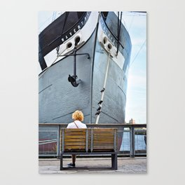 Waiting for Adventure Canvas Print