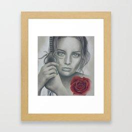 Joana D'Arc Framed Art Print
