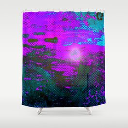 The Drowning Sun Shower Curtain