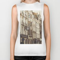 london Biker Tanks featuring London  by Nina's clicks