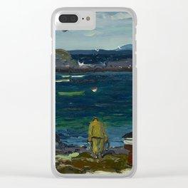 The Harbor, Monhegan Coast, Maine, 1913 Clear iPhone Case