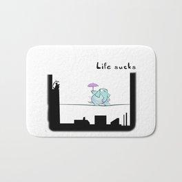 Life Sucks Bath Mat