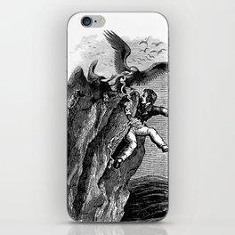 The Vulture Advocate iPhone Skin