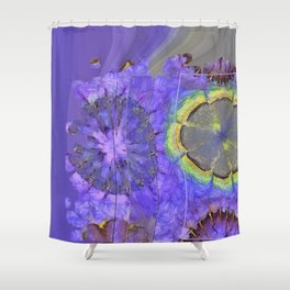 Resistability Woof Flower  ID:16165-105348-97381 Shower Curtain