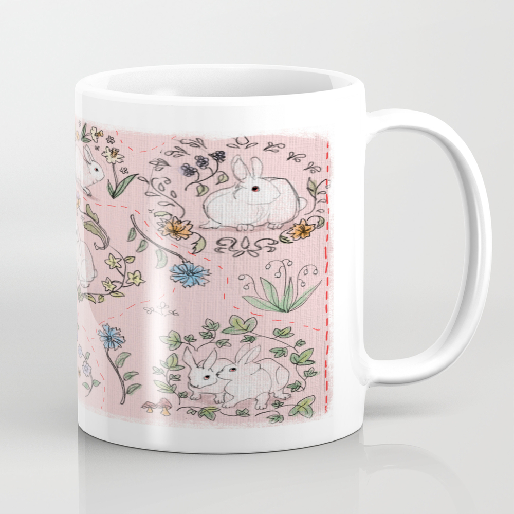Bashful Bunnies Coffee Cup by Maikemble MUG8370715
