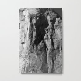 Abstract in Stone Metal Print