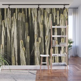 Suculent endemic canarian cacti Wall Mural