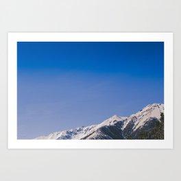 Mt. Princeton Spring Snow Art Print