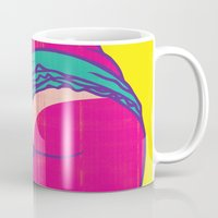 booty Mugs featuring Booty Clap by Tony Easley