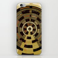 record iPhone & iPod Skins featuring Record by Tammy Kushnir