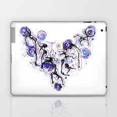Watercolor Necklace Laptop & iPad Skin