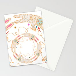 Rabbit Moon Stationery Cards