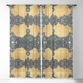 Golden fleece Sheer Curtain