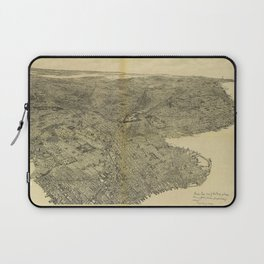 The Borough of Brooklyn, New York (1897) Laptop Sleeve