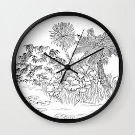 Outside II Wall Clock