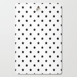 Black and white Star Pattern Cutting Board