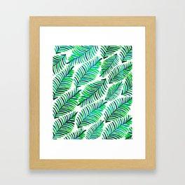 Palm Solace #society6 #buyart #decor Framed Art Print