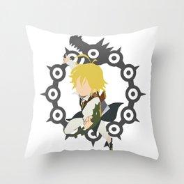 Dragon's Sin Of Wrath - Meliodas Throw Pillow