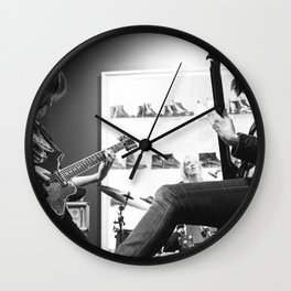Ex Hex live at Dr. Marten's in Georgetown Wall Clock