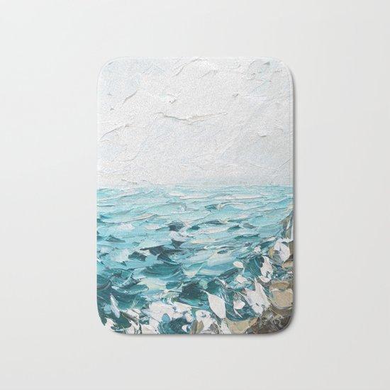 Rocky Coast Bath Mat