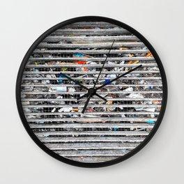 Junk Wall Clock