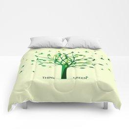 Think green! Comforters