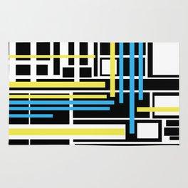 geometric art 1 Rug