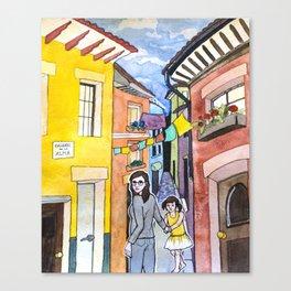 Callejon de la Alma Canvas Print